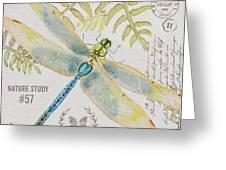 Botanical Dragonfly-jp3418b Greeting Card