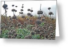 Botanical Towers Greeting Card