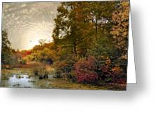 Botanical Wetlands Greeting Card