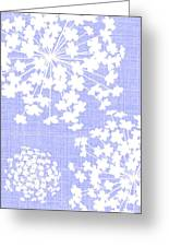 Botanicals Baby Blues Greeting Card
