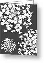 Botanicals Grey Greeting Card