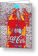 Bottle Of Coca-cola Greeting Card