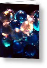 Bottled Marbles Greeting Card