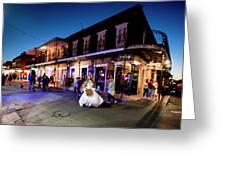 Boubon Bride - New Orleans Greeting Card
