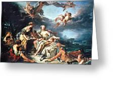 Boucher: Abduction/europa Greeting Card