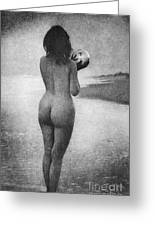 Boughton: Dawn, 1909 Greeting Card