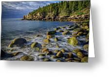 Boulder Beach Morning Greeting Card