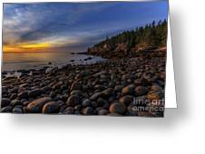 Boulder Beach Sunrise Greeting Card