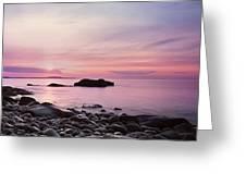 Boulder Beach Greeting Card