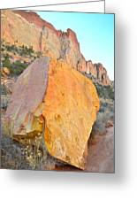 Boulder Color  Greeting Card