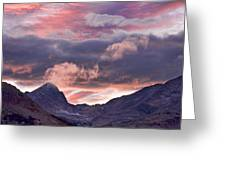 Boulder County Colorado Indian Peaks At Sunset Greeting Card by James BO  Insogna