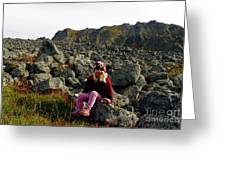 Boulder Field Greeting Card