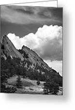 Boulder Flatirons 2 Greeting Card
