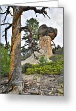 Boulder Mountain Greeting Card
