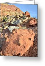 Boulders Above Camprground Greeting Card