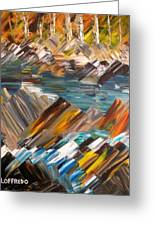 Boulders In The River Greeting Card