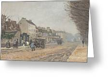Boulevard H?lo?se, Argenteuil Greeting Card