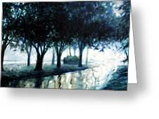 Boulevard Greeting Card