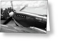 Boultbee Spitfire Tr9 Greeting Card