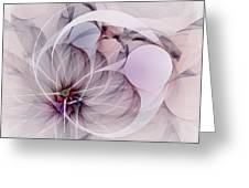 Bound Away - Fractal Art Greeting Card
