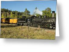 Bound For Durango Greeting Card by Jerry McElroy