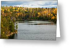 Boundary Waters Overlook Greeting Card by Adam Pender