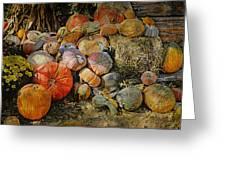 Bountiful Fall Harvest Greeting Card