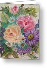 Bouquet 2 Greeting Card