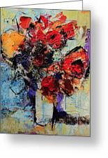 Bouquet De Couleurs Greeting Card