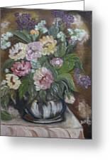 Bouquet De Fleurs Greeting Card
