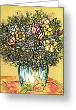 Bouquet For You Greeting Card
