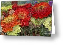 Bouquet Of Colors Greeting Card