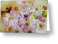 Bouquet Of Daisies Greeting Card