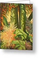Bouquet Of Palm Greeting Card