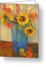 Bouquet Of Sunshine Greeting Card
