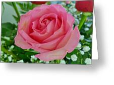 Bouquet Rose Greeting Card
