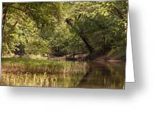 Bourbeuse Reflection Greeting Card