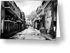 Bourbon Alley Greeting Card