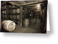Bourbon Rickhouse Greeting Card
