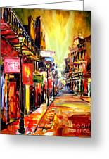 Bourbon Street Dazzle Greeting Card