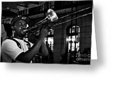 Bourbon Street Tbone Greeting Card