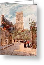 Bourges Greeting Card