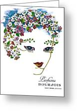 Bourjois Greeting Card