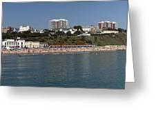 Bournemouth Beaches Greeting Card