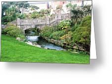 Bournemouth Lower Gardens Greeting Card