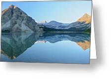 Bow Lake Panorama Greeting Card