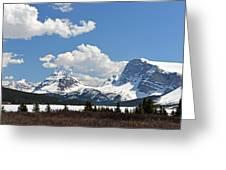 Bow Lake Vista Greeting Card