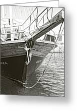 Bow Of The Boat Greeting Card