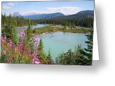 Bow River Banff National Park Canada Greeting Card
