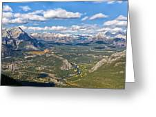 Bow River Beauty Greeting Card